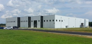 Maxpro's new Whiteville, N.C., facility was constructed from a shell building of four walls with a dirt floor.