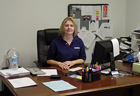 Dallas branch manager Candy Wirsching
