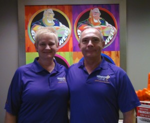 Lou and Jackie Pins will take the reigns as owners of the new Window Genie franchise in Milton, Wis.