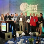 Pictured are award winners from Solar Gard's annual dealer meeting.
