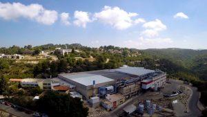 Aerial view of Hanita's headquarters in Israel.